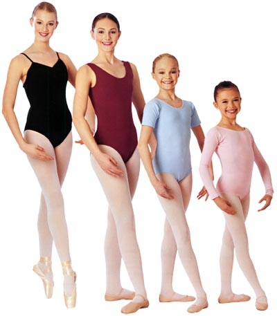What to wear under a dance leotard